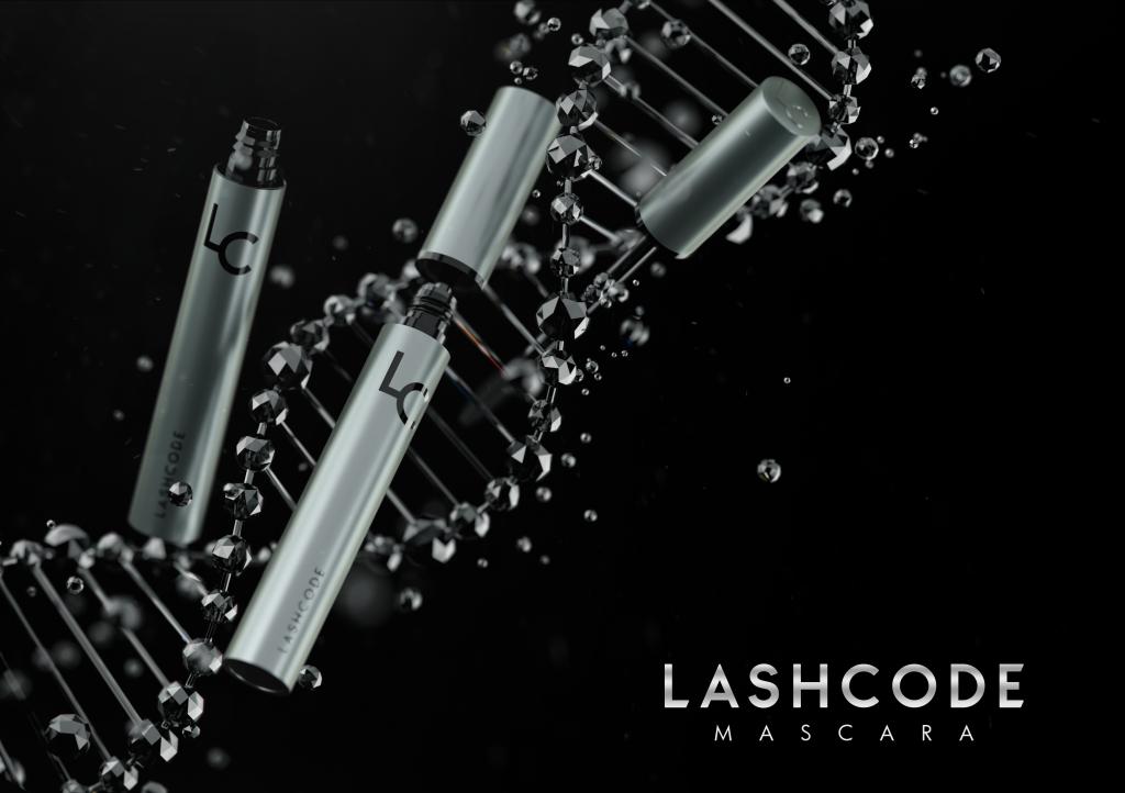 Tusz Lashcode - wzmacniający rzęsy
