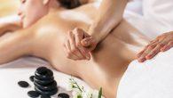 masaż w salonie kosmetycznym