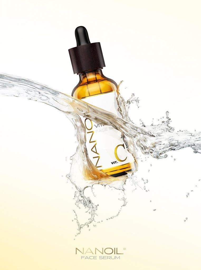 ulubione serum do twarzy z witaminą c Nanoil