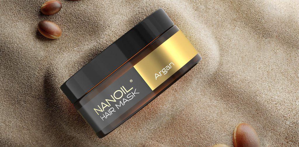 nanoil argan maska na włosy