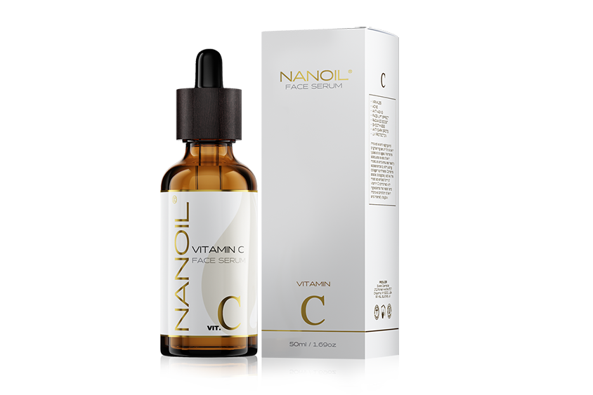 Serum do twarzy z witaminą C - Nanoil Vitamin C Face Serum (50ml)