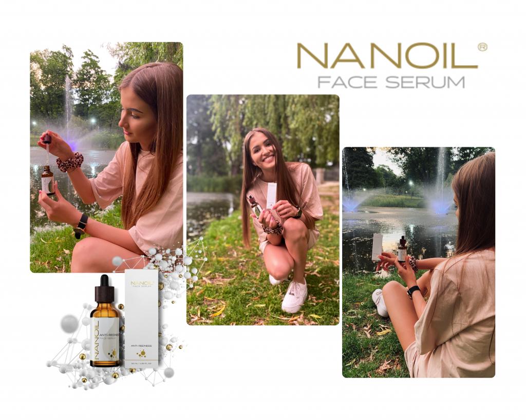 ulubione serum do cery naczynkowej Nanoil
