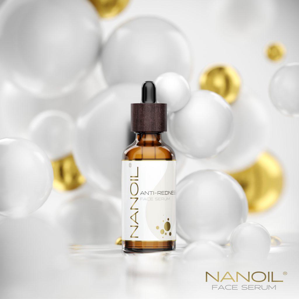 nawilżające serum do cery naczynkowej Nanoil